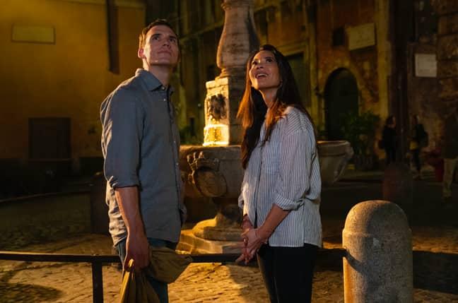 Sam Claflin stars in the Netflix Original (Credit: Netflix)