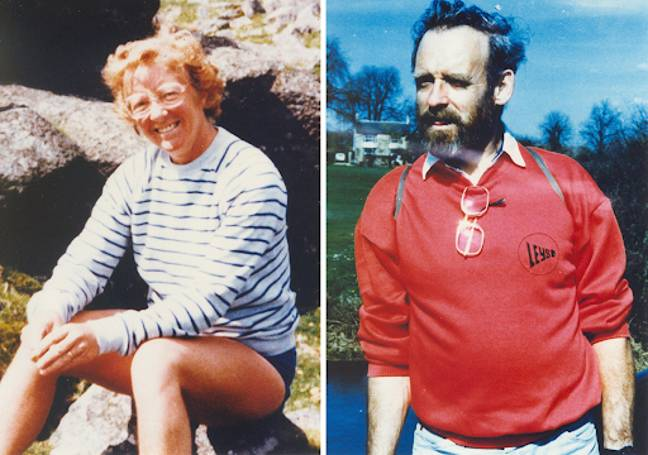 Peter and Gwenda Dixon who were murdered on an isolated stretch of the Pembrokeshire coastal footpath (Credit: PA)