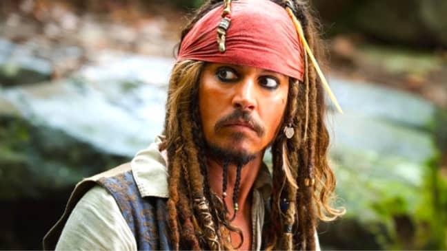 Johnny Depp played Captain Jack Sparrow in the film franchise (Credit: Walt Disney Studios Motion Pictures)