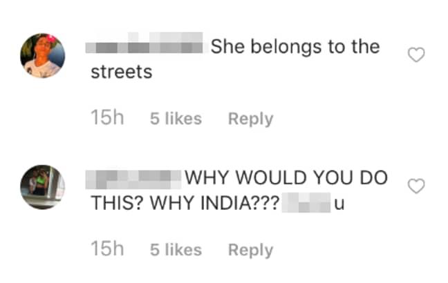 Credit: India Reynolds Instagram