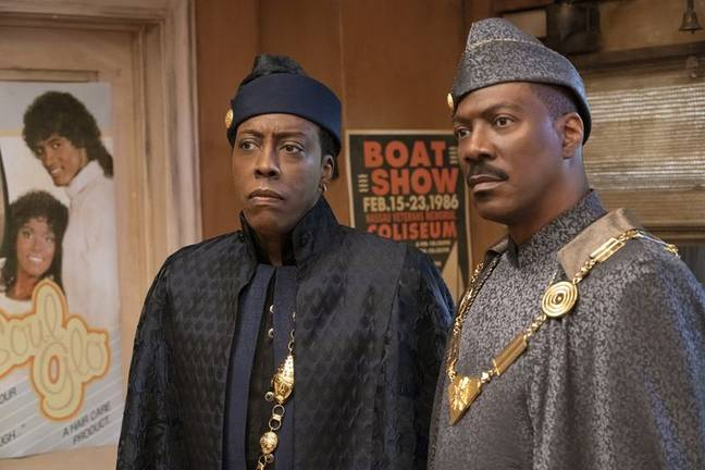 Eddie Murphy and Arsenio Hall return Coming 2 America (Credit: Amazon Prime Video)
