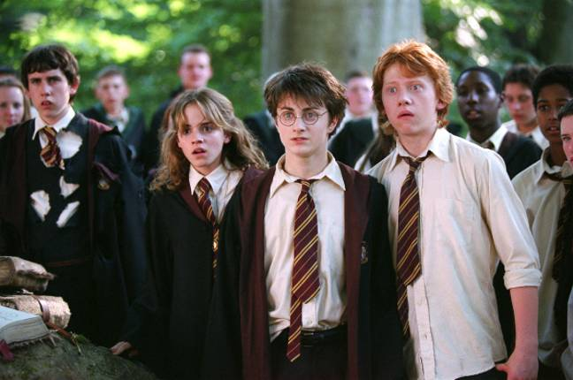 The Invisibility Cloak often helped Harry, Ron and Hermione out of scrapes (Credit: Warner Bros)