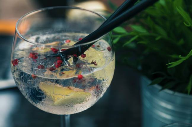 The gin goes well with tonic or prosecco (Credit: Pexels)