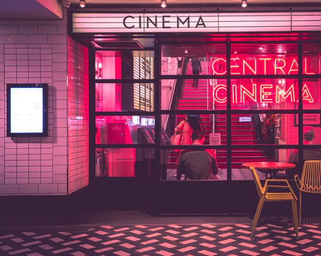 Your cinema trip could be doing you good (Credit: Unsplash)