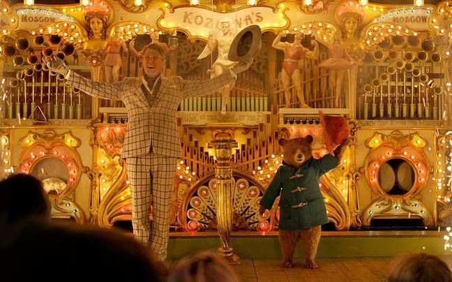 Hugh Grant appears in Paddington 2 (Credit: Studio Canal)