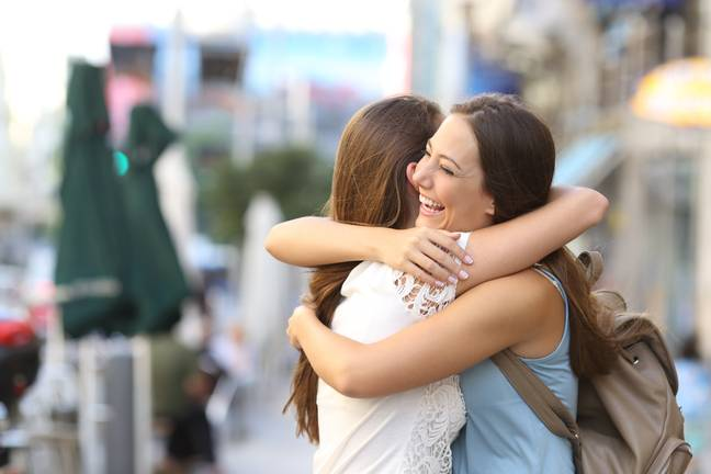 People could start turning down hugs in future (Credit: Shutterstock)