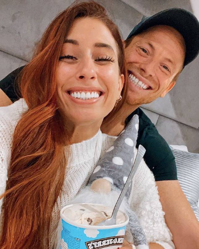 Stacey Solomon says boyfriend Joe Swash loves her body hair (Credit: Instagram - Stacey Solomon)