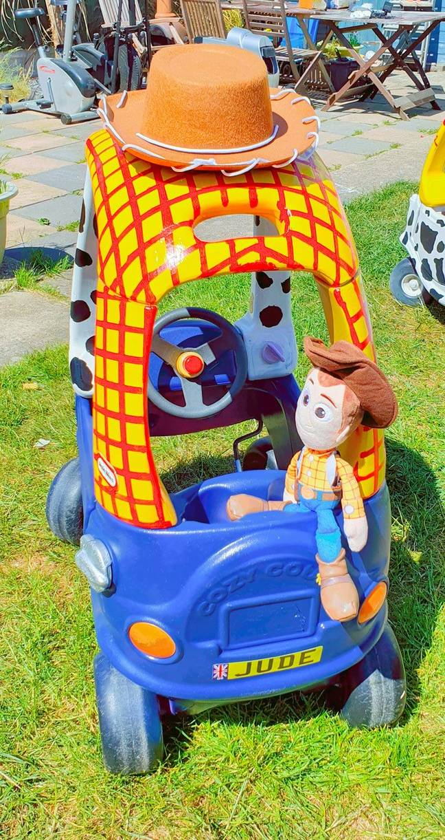 The Woody car was designed for Liam's other daughter (Credit: LatestDeals.co.uk)