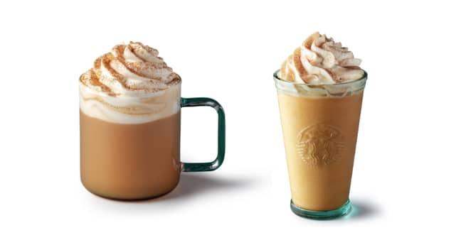 The Pumpkin Spice Latte is a seasonal favourite (Credit: Starbucks)