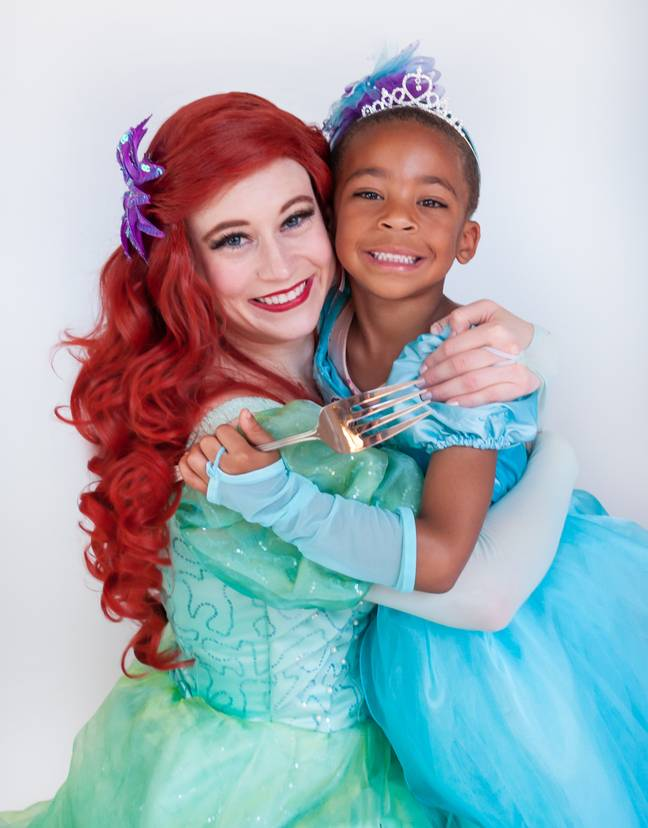 Teddy and Ariel (Credit: Boys Can Be Princesses Too Project)