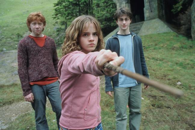 Hermione stands up to Draco Malfoy (Credit: Warner Bros)
