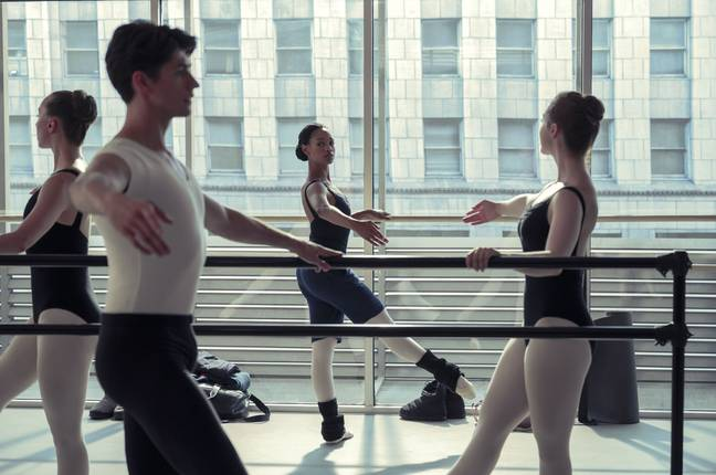 The ballet show is about a lot more than just dance (Credit: Netflix)