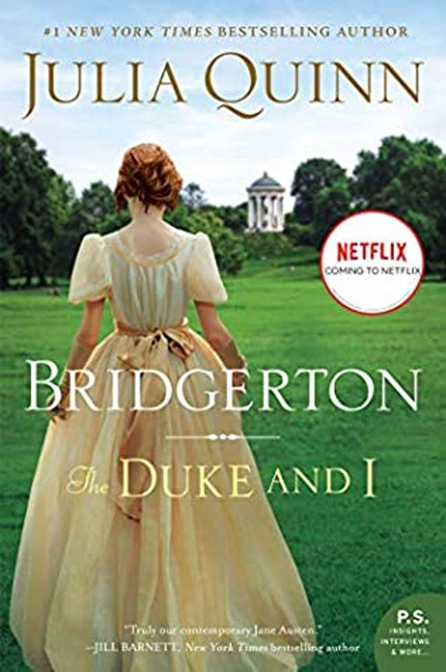 Bridgerton is based on the Julia Quinn novel (Credit: Julia Quinn/ Harper Collins)