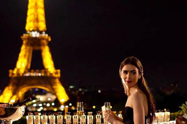 'Emily in Paris' lands on Netflix on 2nd October (Credit: Netflix)