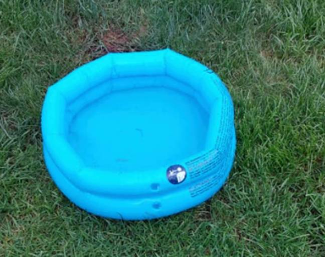 This woman's son is going to struggle cooling off in this paddling pool (Credit: Facebook/Natalie Dee)