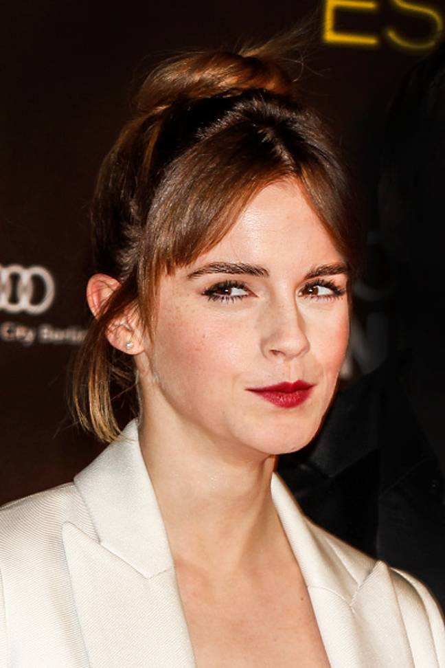 Emma Watson told British Vogue that she considers herself 'self-partnered' (Credit: XX)
