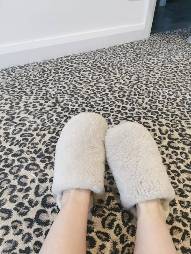 People are obsessed with this carpet (Credit: Facebook/ Rosie Colvin)
