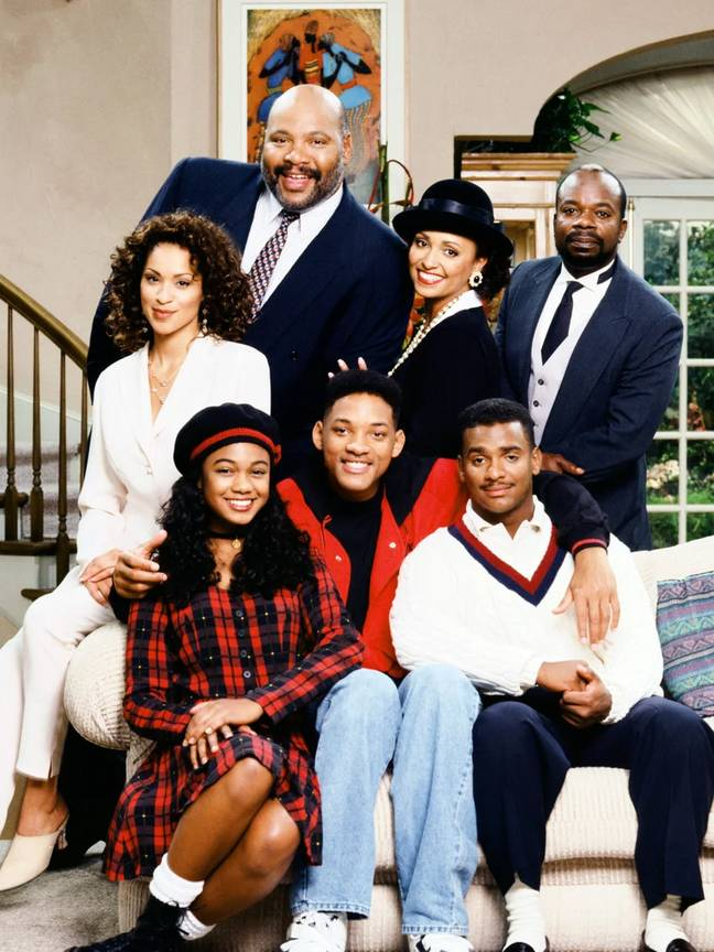 The show also starred the late James Avery (Credit: NBC)