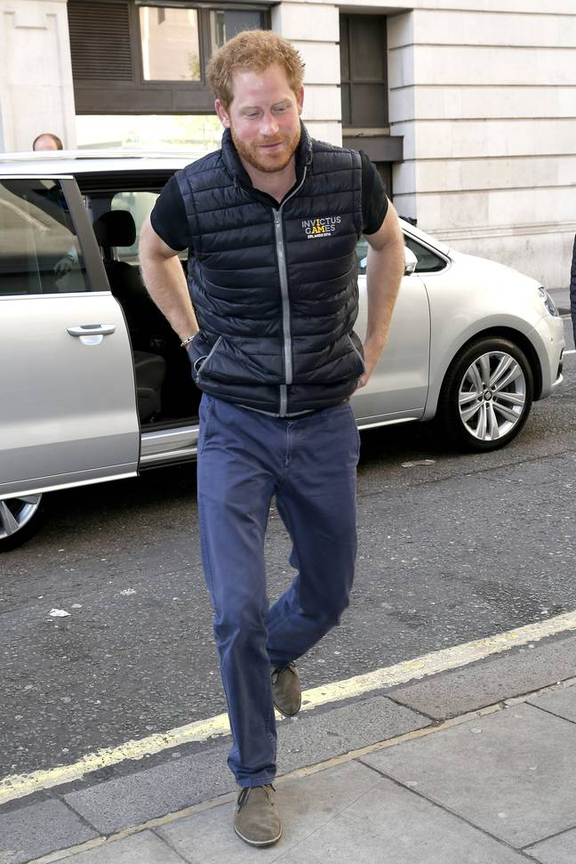 [Old image] Prince Harry is back in London (Credit: Shutterstock)