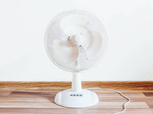 Fans circulate allergens around the room at night (Credit: Pxfuel)