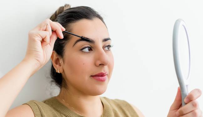 Brow expert shares her step-by-step guide to at-home brow threading with Tyla (Credit: Suman Brows)