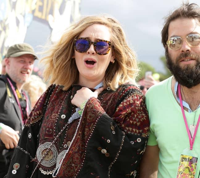 Adele recently split from her husband Simon Konecki Credit: PA