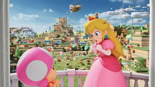 There'll be areas inspired by Bowser and Princess Peach's Castles (Credit: Universal Studios/Nintendo)