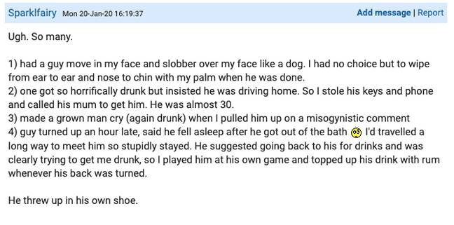 One woman had multiple hilarious stories (Credit: Mumsnet)