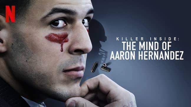 'Killer Inside: The Mind of Aaron Hernandez' is set to arrive on Netflix on 15th January (Credit: Netflix)