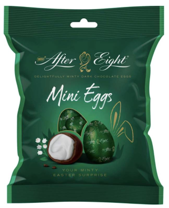 Now you can have Easter-themed After Eights (Credit: Nestle)