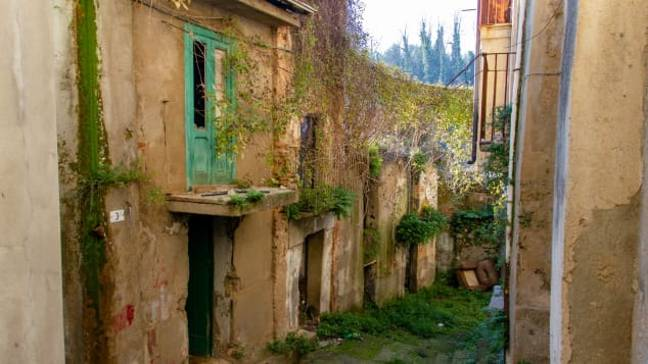 The homes are based in the town's historic quarter (Credit: Guiseppe Tripodi/Municipality of Cinquefrondi)