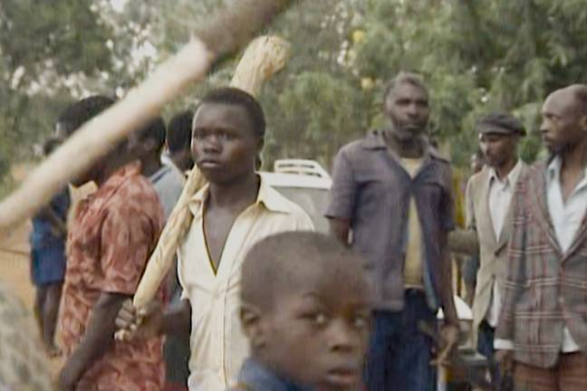 Kabuga is accused of having funded the Rwandan genocide (Credit: Netflix)
