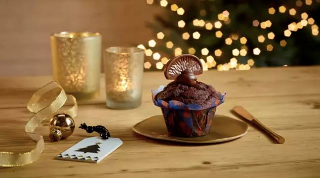 The Terry's Chocolate Orange muffin is back for 2020 (Credit: Costa)