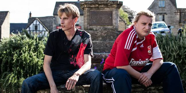 The series stars Daisy May and Charlie Cooper as Kerry and Kurtan Mucklowe (Credit: BBC)