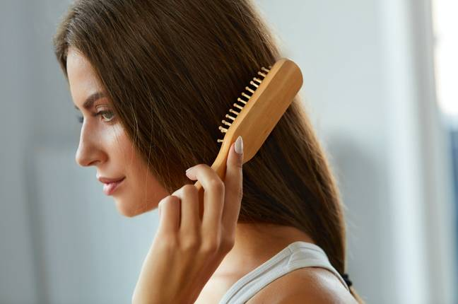 We've been brushing our hair all wrong (Credit: Shutterstock)