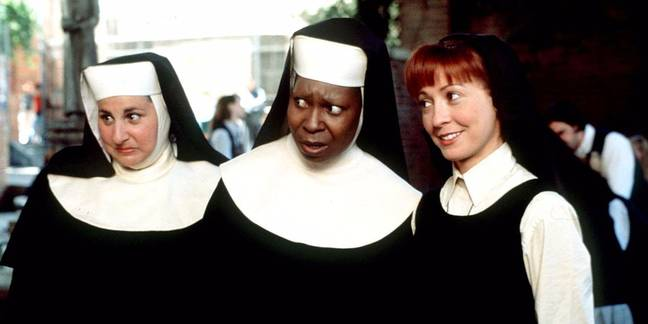 Whoopi Goldberg will return for Sister Act 3 (Credit: Touchstone/Buena Vista)