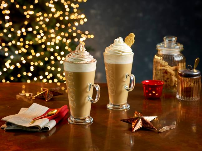 Costa's autumn range features five returning seasonal favourites (Credit: Costa)