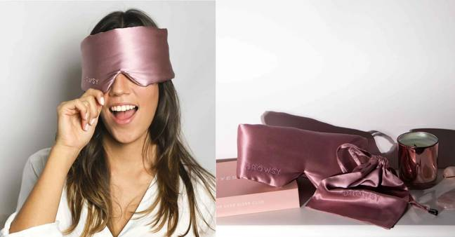 Drowsy Silk Sleep Mask (Credit: Drowsy Silk Sleep Mask)