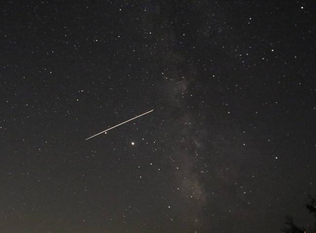 Look out for the meteors in the sky tonight (Credit: PA)