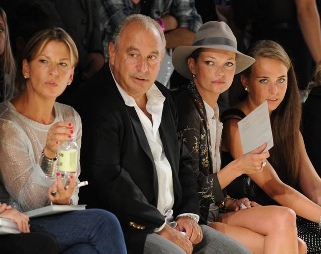 Topshop was at London Fashion Week at the height of its popularity (Credit: PA)
