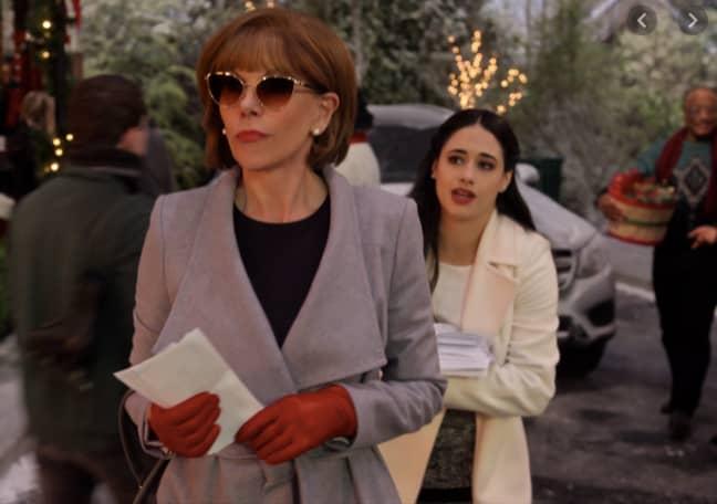 Christine Baranski stars as Scrooge-like Regina Fuller (Credit: Netflix)