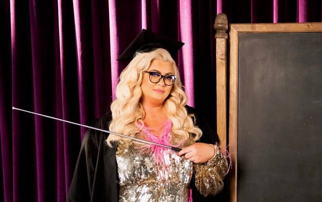 Gemma Collins wants to spread positivity following both national lockdowns this year (Credit: BravoSpeed)