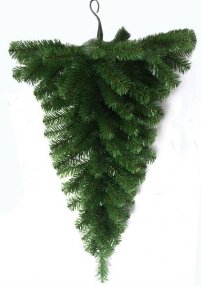 Time to get yourself an upside down tree (Credit: Christmas Tree World)