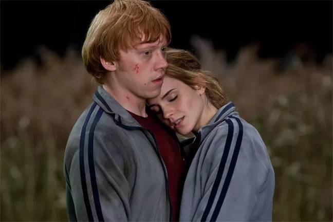 A fan theory suggests that Ron and Hermione divorced (Credit: Warner Bros)