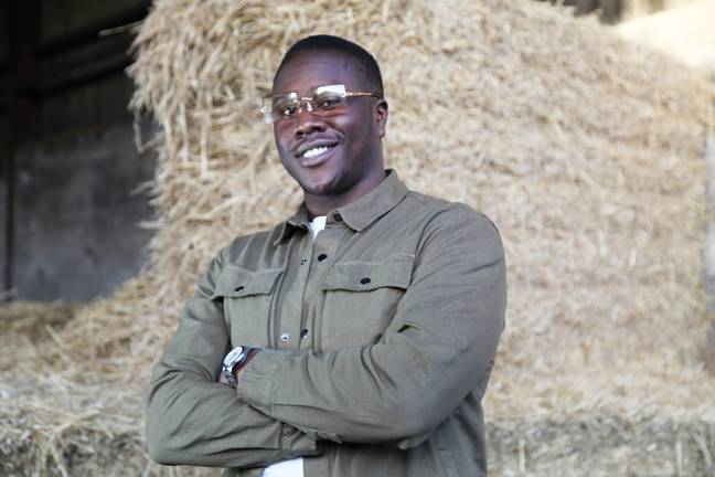 Adebayo is looking for long-term love (Credit: ITV)