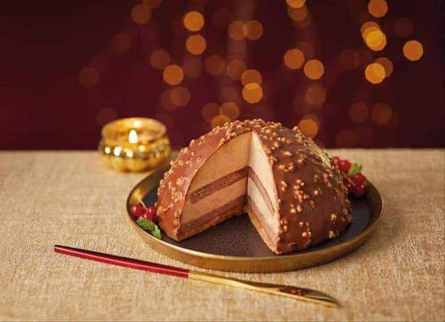 Aldi s also selling a Ferrero Rocher-inspired Chocolate and Praline Dome (Credit: Aldi)