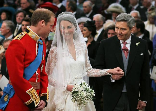 Kate and Will were married on 29th April 2011 at Westminster Abbey (Credit: PA)
