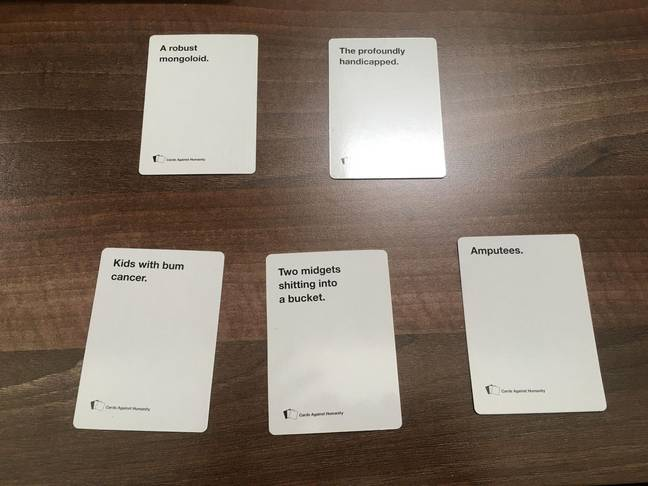 Cards Against Humanity said they have changed 15 per cent of the game to adapt it to