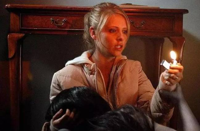 The 2004 original starred Sarah Michelle Gellar as Karen. (Credit: Sony Pictures)