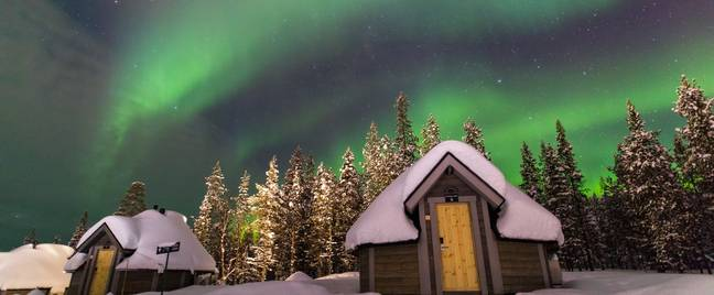 Historically, the Northern Lights have been associated with great magical power (Credit: Northern Lights Village)